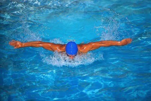 Swimming is an all body weight loss activity that can be fun to do