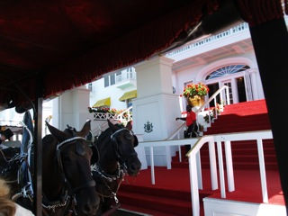 Mackinac Island scenery - The Grand Hotel