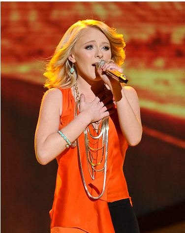 American Idol Fashion and Trends 2012 - Long Gold Necklace