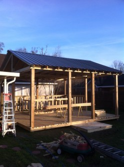 Plan An Outdoor Deck Project and Man Cave