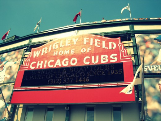 Wrigley Field Home of the Chicago Cubs