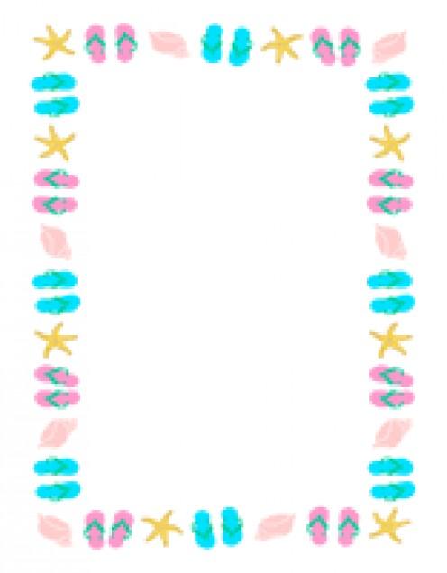 Flip flops Picture Frame