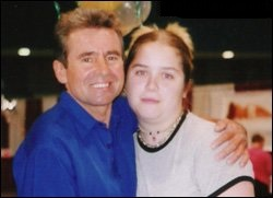 Yours truly with Davy Jones, circa 1998.