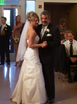 HERE IS THE DANCING I DO NOW. FATHER DAUGHTER DANCE AND DID IT COMPLETELY SOBER! WHAT A GREAT FEELING!