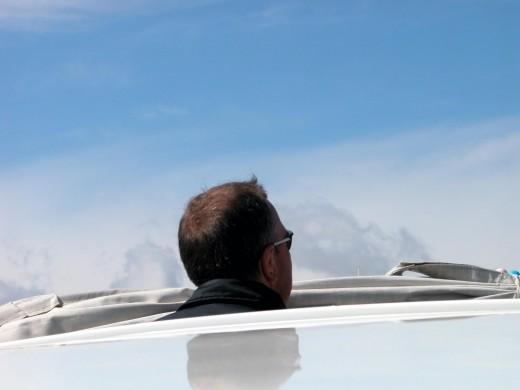 The main benefit to wearing polarized sunglasses: eliminate intense glare.