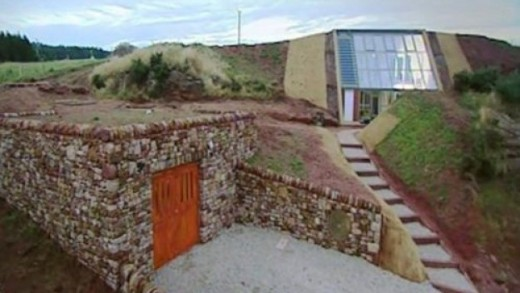 An underground house