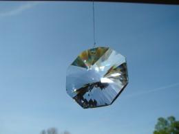 The prism in my kitchen window.