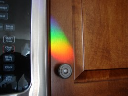 Colour in my kitchen, encouraging me to remember the promises of God in my life.