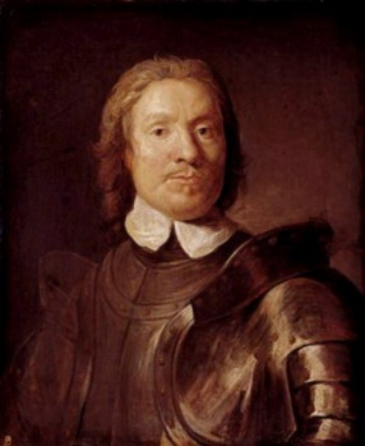 Oliver Cromwell, whose daughters are said to haunt various locations - perhaps still looking for revenge?