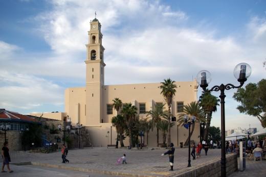Tel Aviv Yaffo, St. Peters church