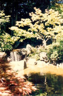 Japanese Garden in Portland, Oregon