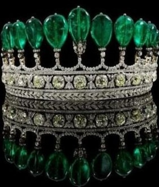 Tiara of Princess Katharina Henckel von Donnersmarck