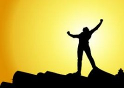 Do you believe that you have accomplished what you have solely because of what you have done?