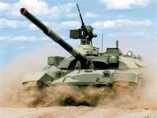 T72 Tank used in Gulf War by Iraq