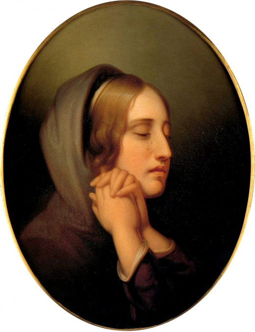 Pearl of Grief Rembrandt Peale