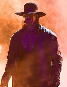 The scary and ominous Undertaker