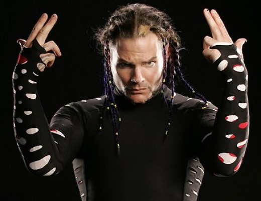 The high-flying Jeff Hardy