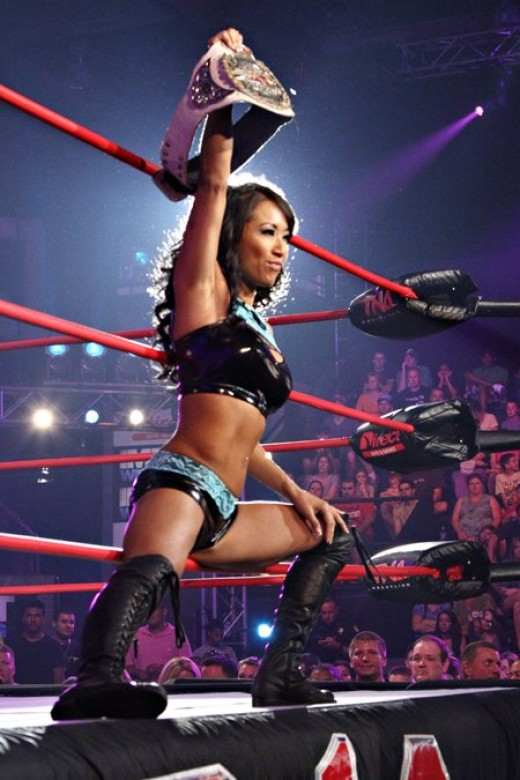 The TNA Knockout Gail Kim