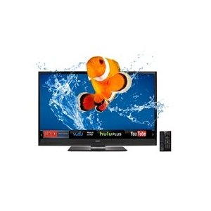 Vizio M3D550KD 55-Inch 240 Hz Class Theater 3D Edge Lit Razor LED LCD HDTV with VIZIO Internet Apps | image credit: Amazon