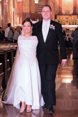 Jessica Cox with husband Patrick Chamberlain