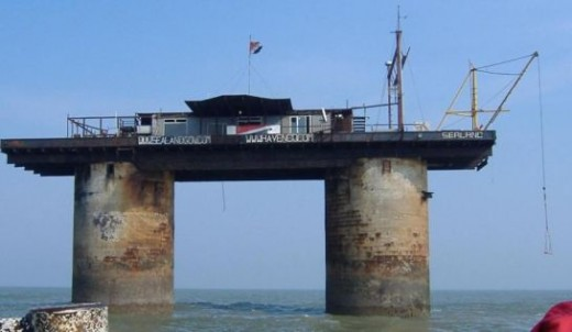 Sealand After a Fire