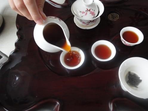 Brewed Ripe Pu-erh Tea