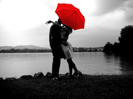 You remember we have met first time under your umbrella in the rain :)