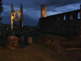 St Andrews Cathedral is not only packed with history, there are also quite a few ghosts!