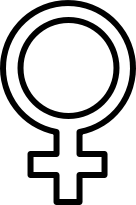 Symbol widely recognized as referring to women