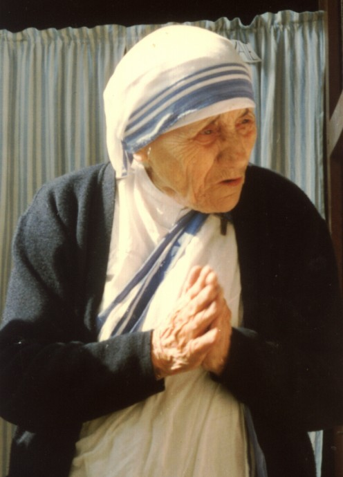A lady that inspired me much...Mother Teresa