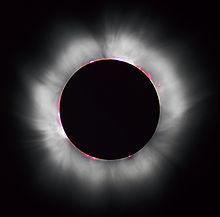Photo of 1999 solar eclipse