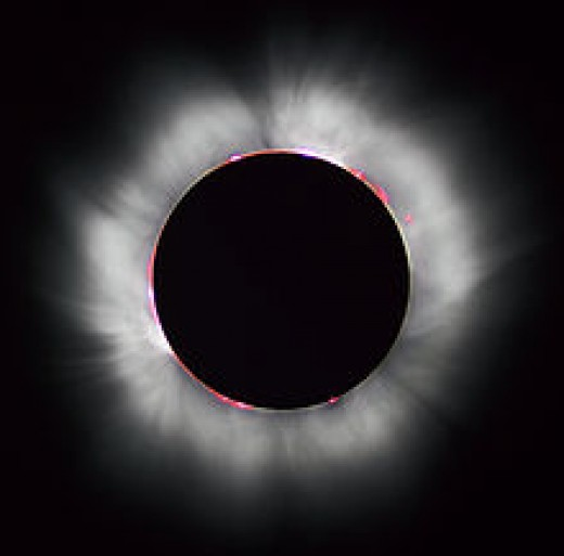 Photo of 1999 solar eclipse