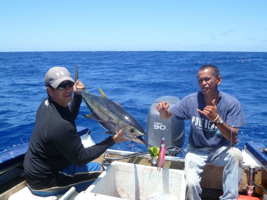 Deep Sea Fishing with Family in Hawai'i