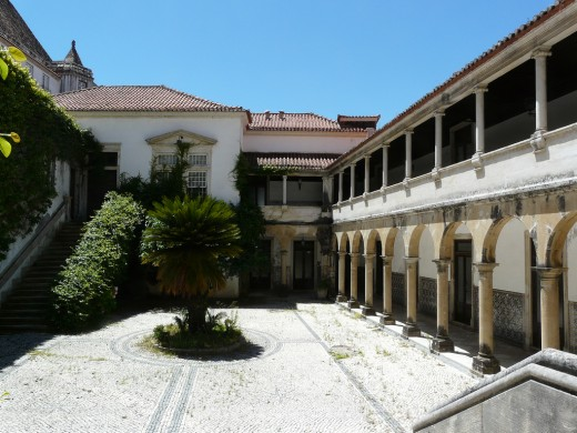Cloister at the Faculty of Pharmacy