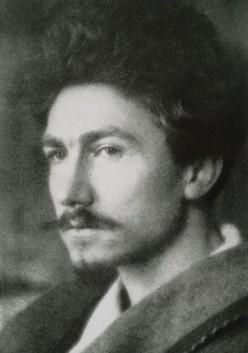"""Ezra Pound, author of """"Altaforte"""""""