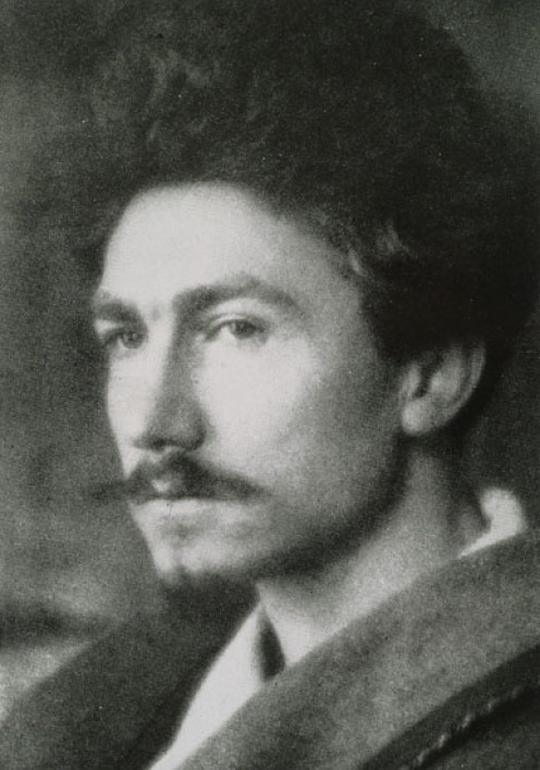 "Ezra Pound, author of ""Altaforte"""