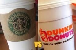 Dunkin Donuts vs. Starbucks