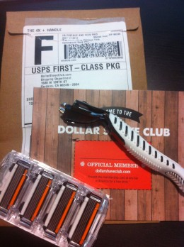 Dollar Shave Club Welcome Kit