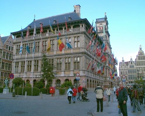 Antwerp City Hall, Grote Markt, Antwerp