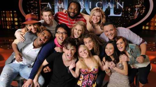 American Idol Season 11 Finalists (Photo Credit: Hollywood Reporter)