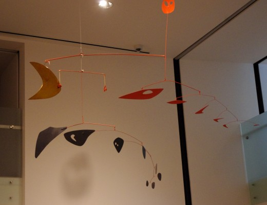 Alexander Caulder Mobile ~ Portland Art Museum