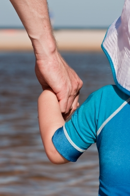 Swim shirts and rash guards provide UV protection, but beware of chemical additives applied to fabrics.
