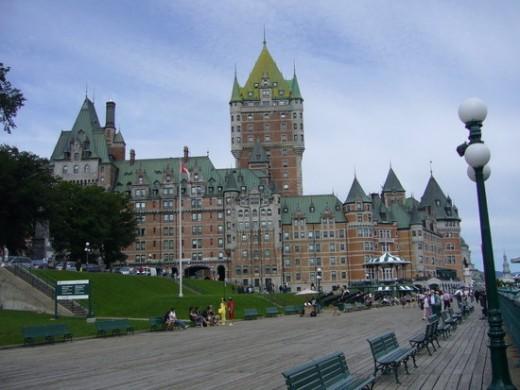 Le Chateau Frontenac, Quebec City