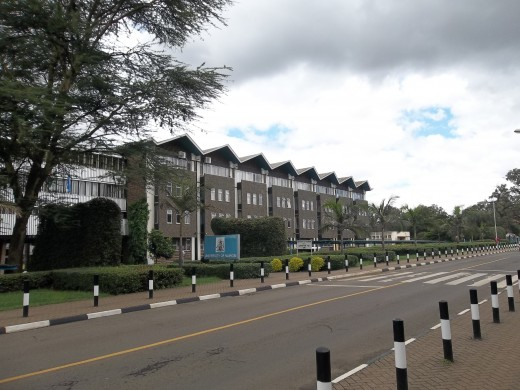 The University of Nairobi, main campus