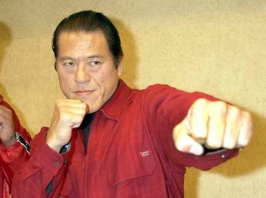 The Japanese WWE Hall of Famer Antonio Inoki