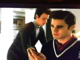 Blaine discovers Kurt's text indiscretions.