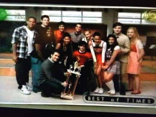 The best of times: the Glee club at its beginning.