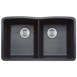Black diamond composite sink.  Perfect for your contemporary kitchen