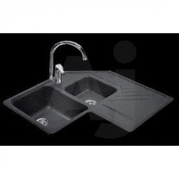 Granite corner kitchen sink combo