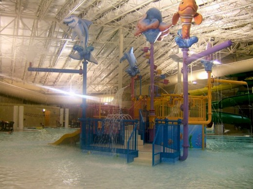 Kings pointe water park in Storm Lake, IA
